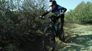 ATTACKING THE TRAIL ON THE REIGN 27.5 2 IS ALL FUN