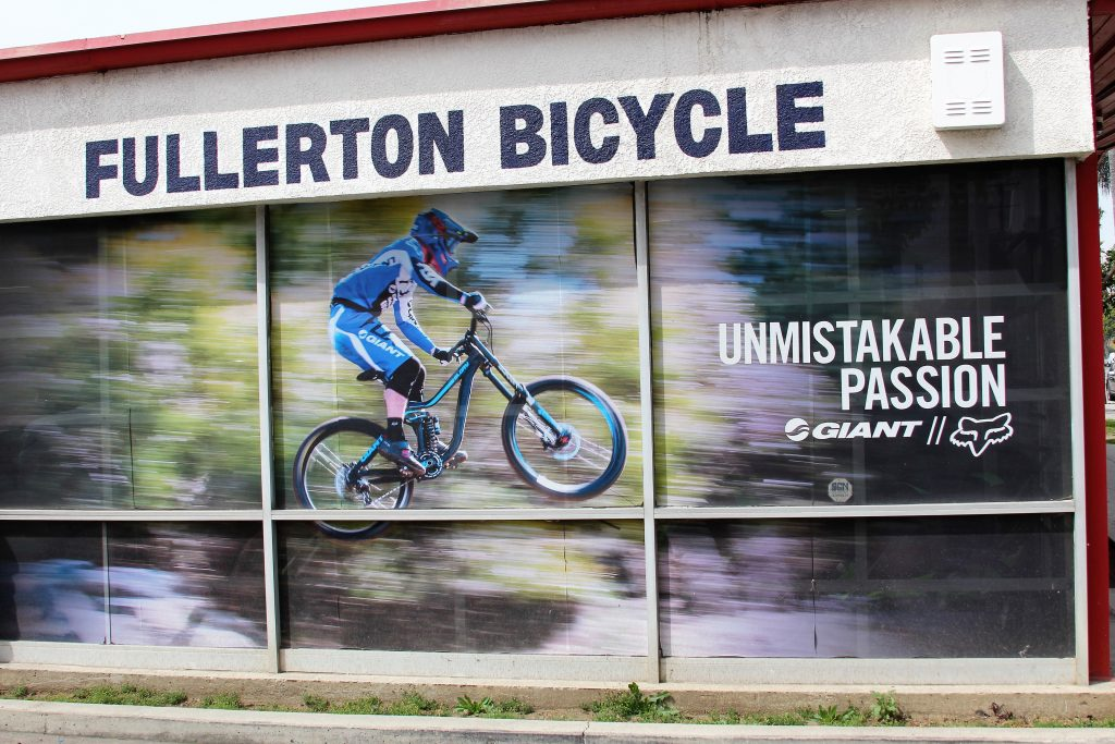 UNMISTAKABLE PASSION THIS IS THE BEST WAY TO DESCRIBE FULLERTON BICYCLE WITHOUT A DOUBT