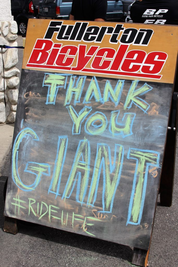 THANKS TO GIANT, THANKS TO MIKE. THIS IS A GREAT PARTNERSHIP THAT WE HOPE TO SEE FOR MANY YEARS TO COME