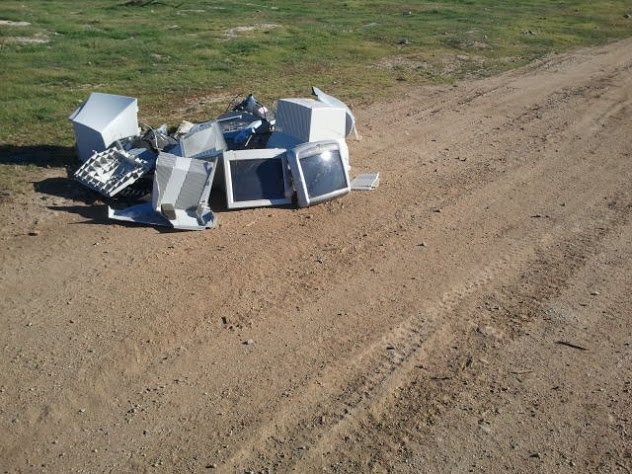 trailside trash