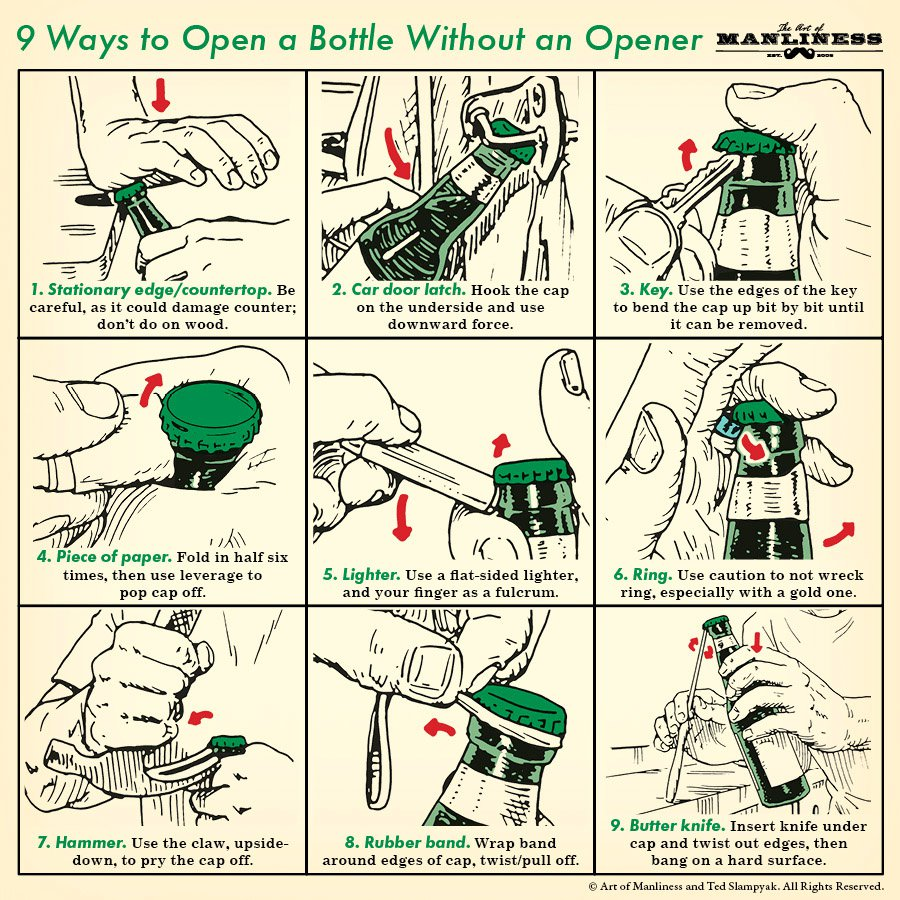 9-Ways-Open-a-Bottle-1