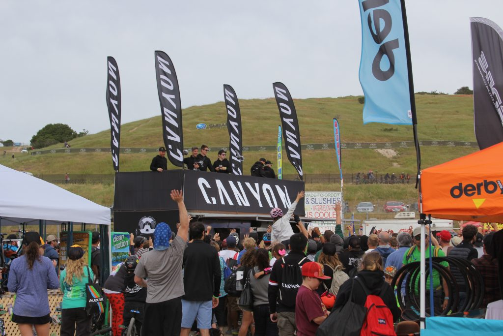 IF YOU DIDN'T WIN A BIKE YOU COULD HAVE WALKED AWAY WITH A CANYON BIKES TSHIRT