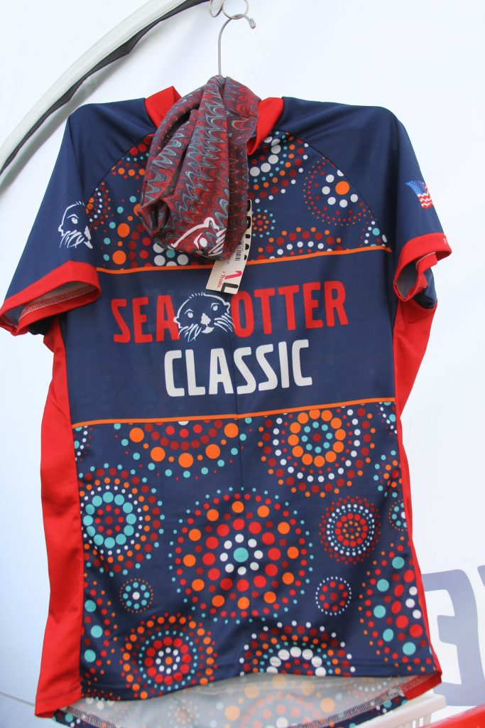 YOU WILL LOOK GOOD ANY WHERE IN A COOL SEA OTTER BIKE JERSEY