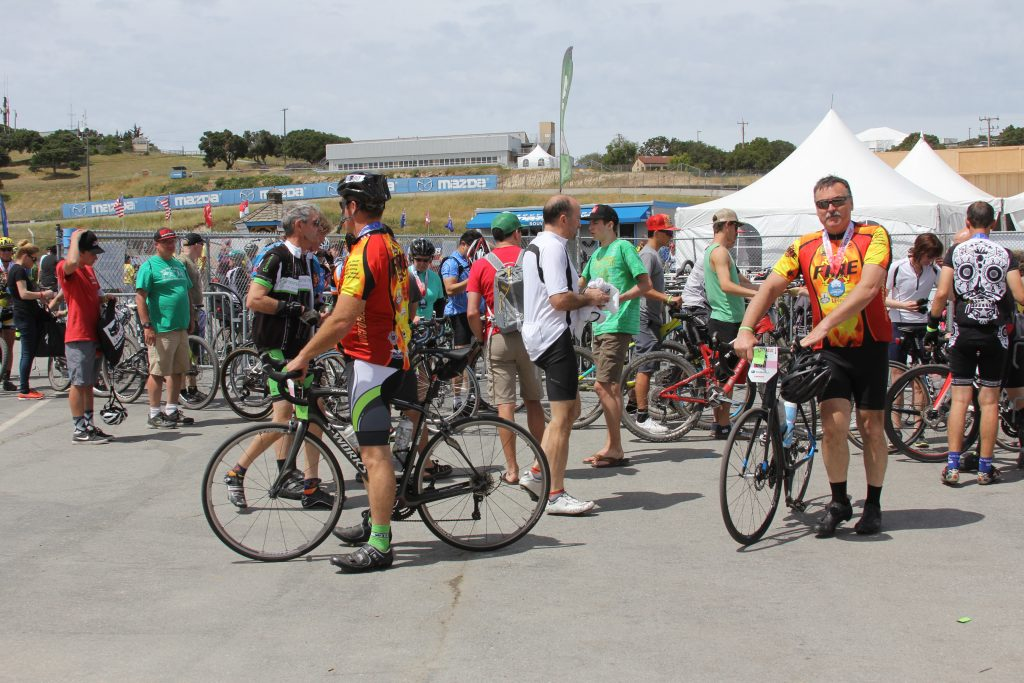 THIS IS A GREAT WAY TO ENJOY SEA OTTER, DROP YOUR BIKE AT THE BIKE VALET AND DON'T WORRY