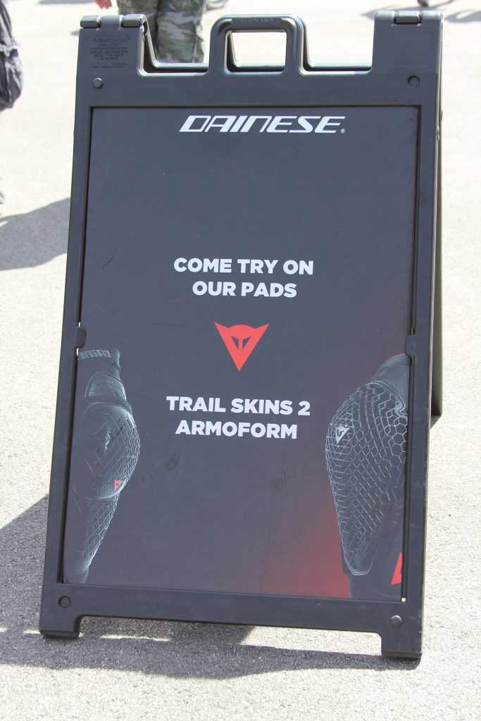 ALL DAY LONG DEMO DAINESE LATEST KNEE AND ELBOW.